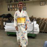 Day Program DSP ?? modeling a kimono.