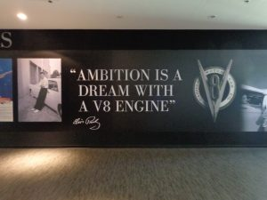 "Quote, ""Ambition is a dream with a V8 engine."" -Elvis Presley"